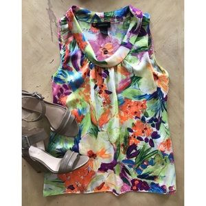 Spense • Colorful Silky tank top